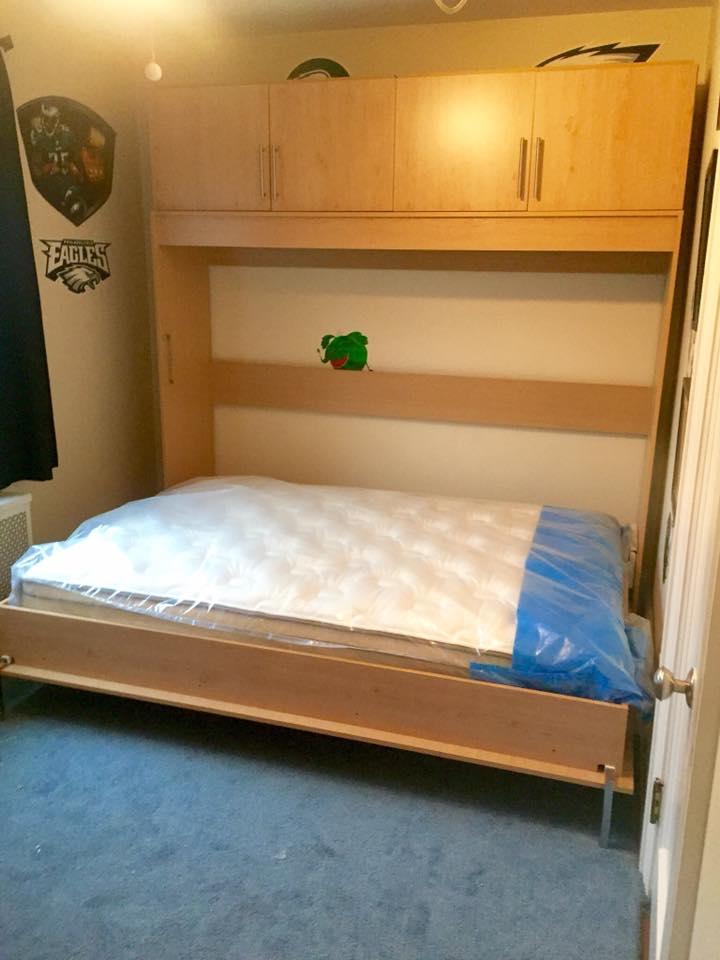 Horizontal Murphy Beds Murphy Bed Nyc Area