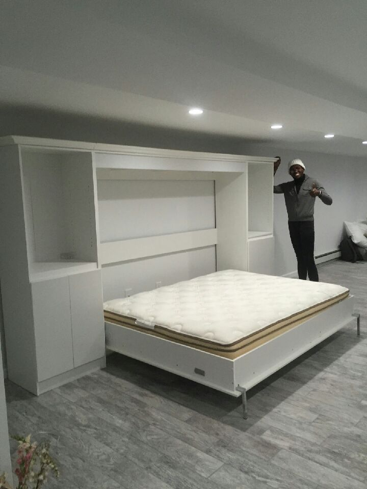 Horizontal Murphy Beds Murphy Bed Nyc Area