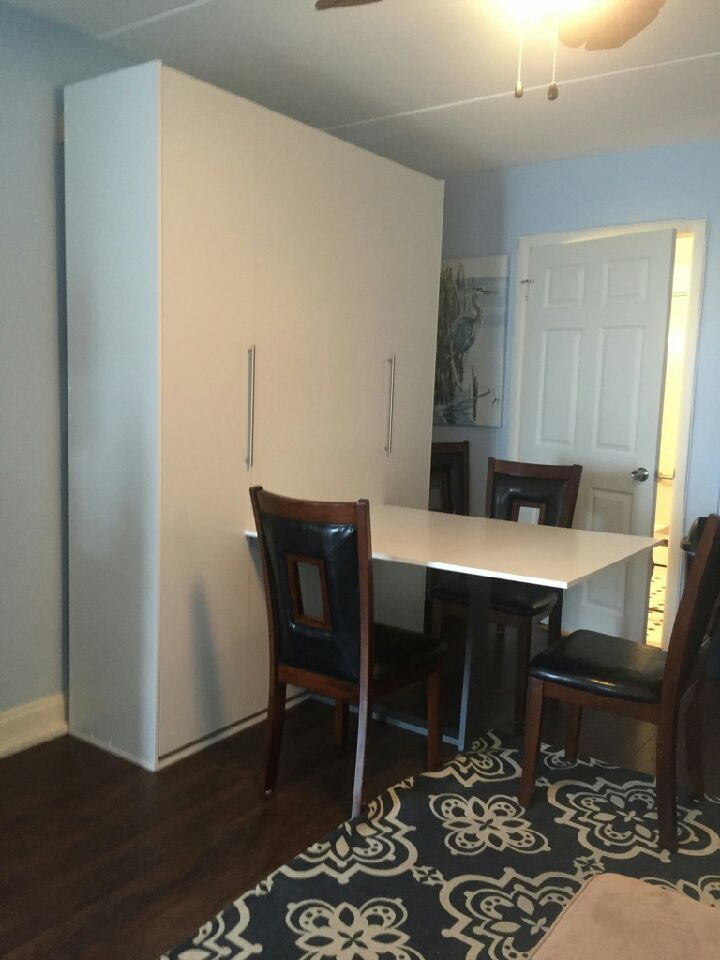 Murphy Bed Desk Or Drop Table Murphy Bed Nyc Area