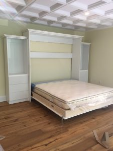 king size murphy bed install