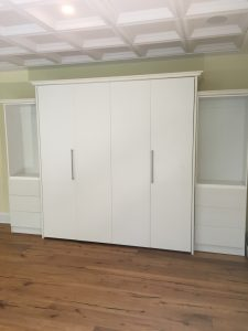 murphy bed king size installed